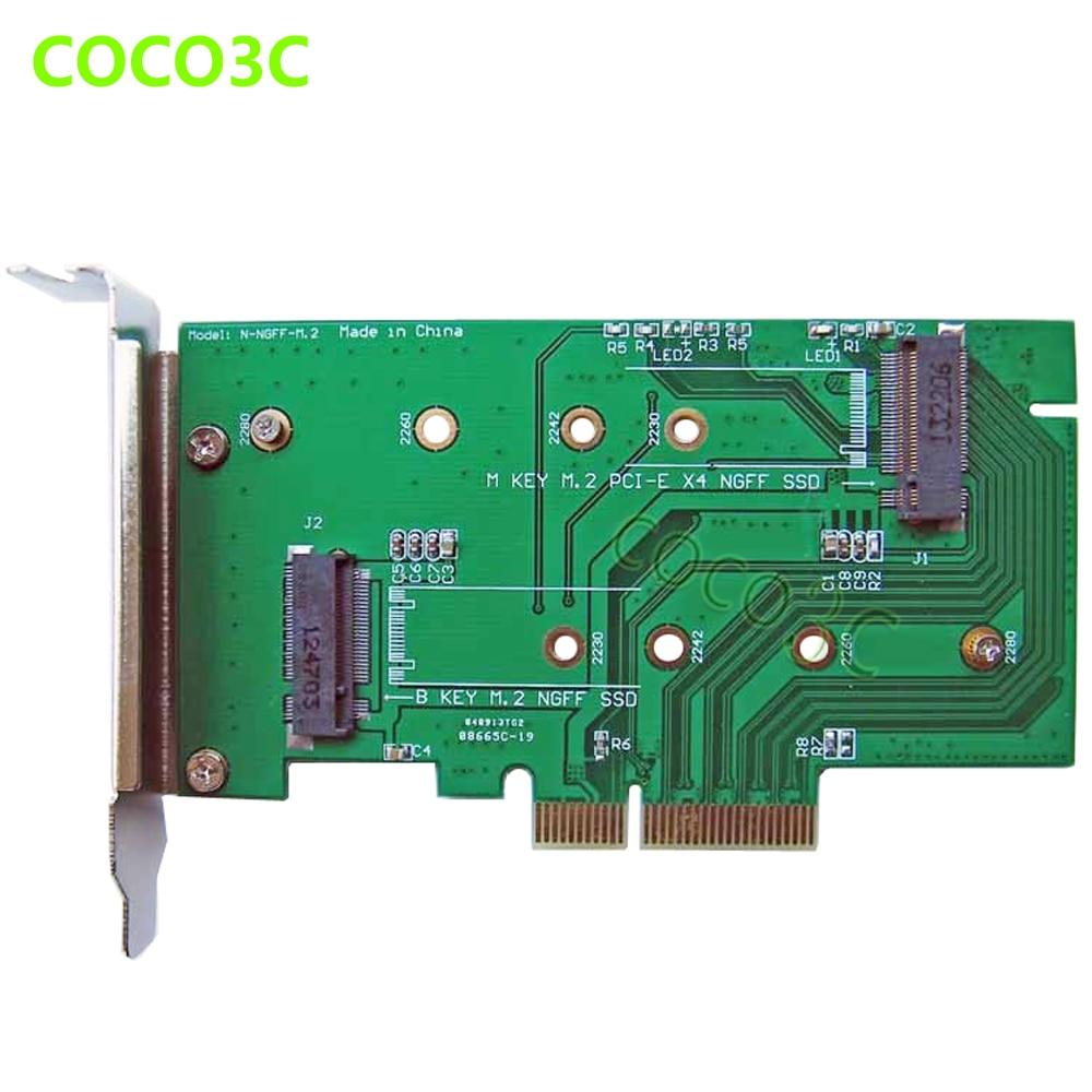 PCI-e x4 έως M Κλειδί NGFF Κάρτα SSD για SAMSUNG - Στοιχεία υπολογιστών - Φωτογραφία 5