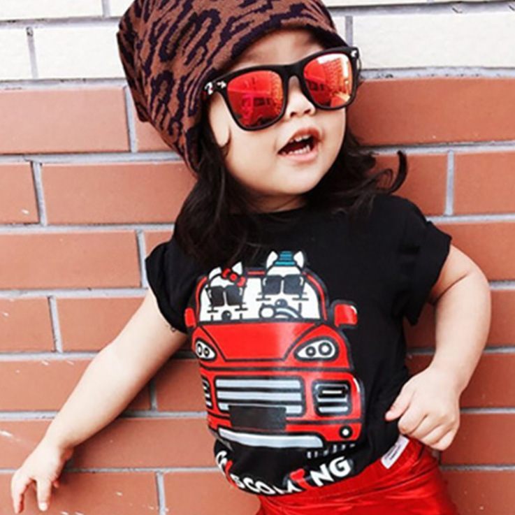 Fashion Summer Baby sunglass for beach travle Summer shapes sunglasses Summer Style Child beach sunglasses kid Coating Sunglass