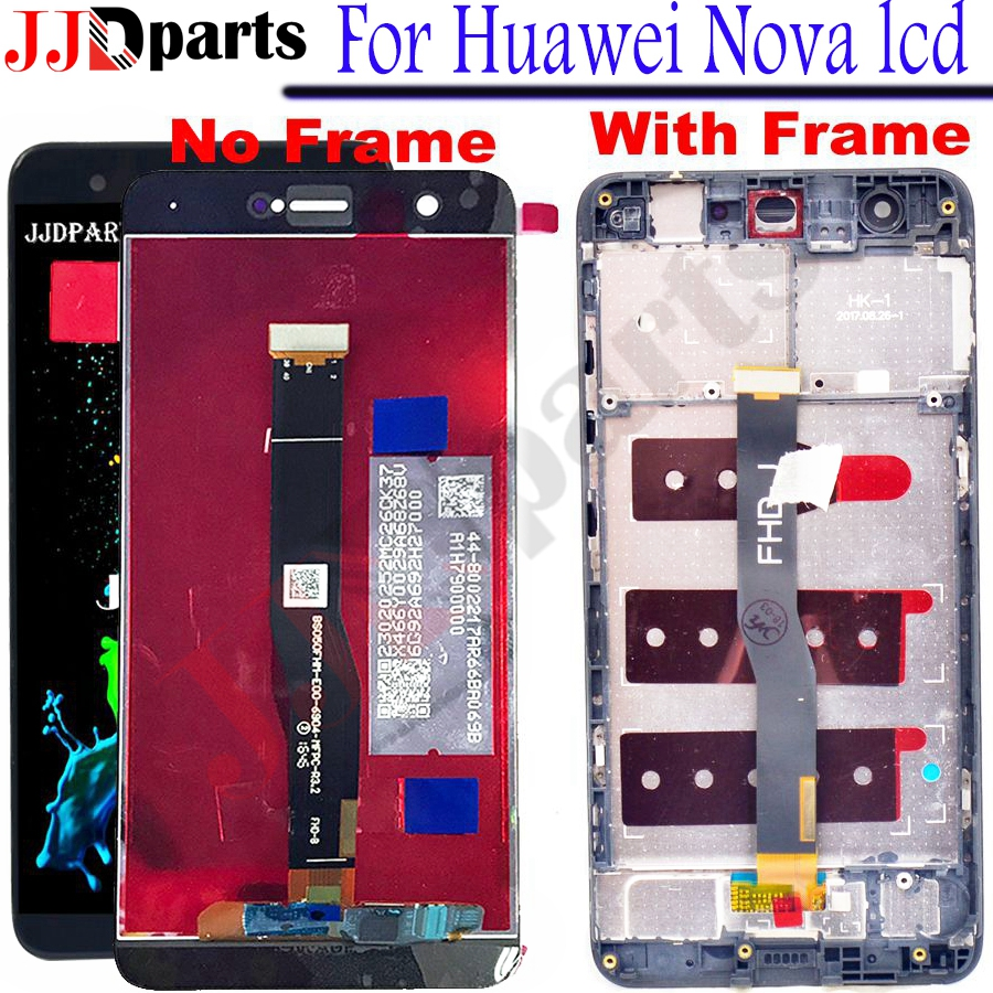 Huawei Nova LCD Display Touch Screen Digitizer Assembly For Huawei Nova Display With Frame CAN-L11 CAN-L01 Screen Replacement