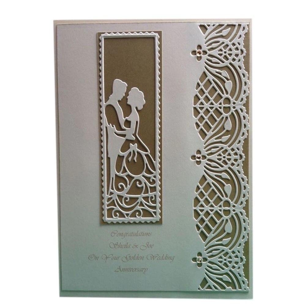 Metal Wedding Cutting Dies Stencils For DIY Scrapbooking Photo Album Card Decorative Embossing Valentine Craft Dies