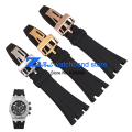 Rubber Watchband Sports watch strap Black 28mm Men  high quality  Watch  accessories silicone wristwatches band use for AP