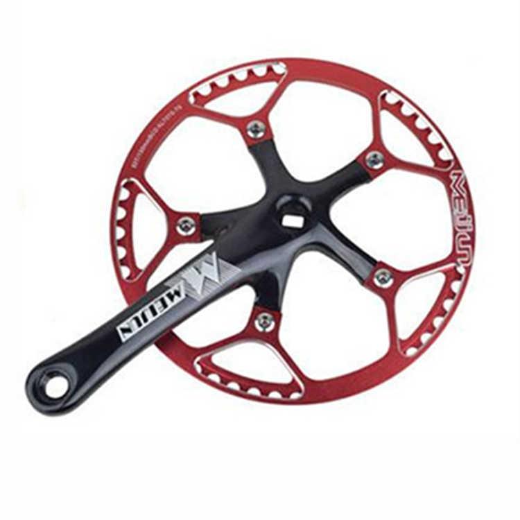 MEIJUN горный велосипед 170 мм 45 т 47 т 53 т шатун алюминиевый сплав складной велосипед цепь рукоятка колеса Набор