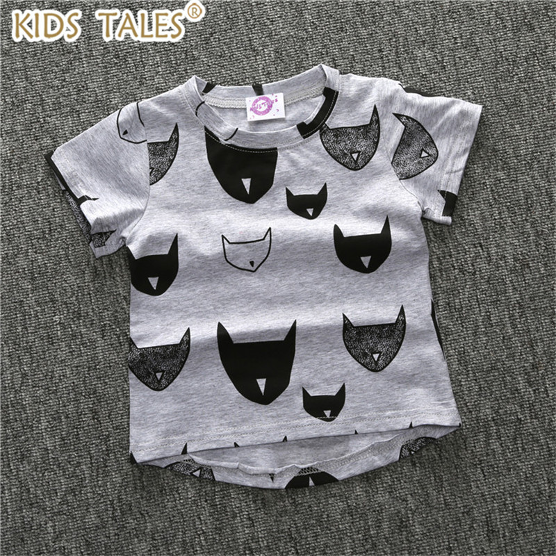 Roupas Infantis Menino Menino Boys Clothes Cute Kids Clothes Boy T shirt Cartoon Bat Printed Baby Girl T-shirt Children pj masks