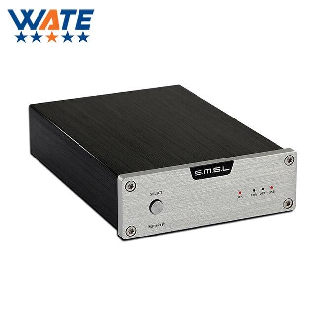 Бесплатная доставка Новый XD-06 Усилитель Для Наушников 24Bit/192 КГц Высокое производительность/Коаксиальный/Оптический ЦАП + Пробка/ОУ + Класс BUF