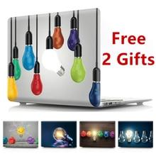 Case for MacBook Air Pro Retina 11 12 13 15 Bulb Cover for Mac book Pro 13 15 inch A1466 A1932 A1398 A1286 A1990 A1502 A1708