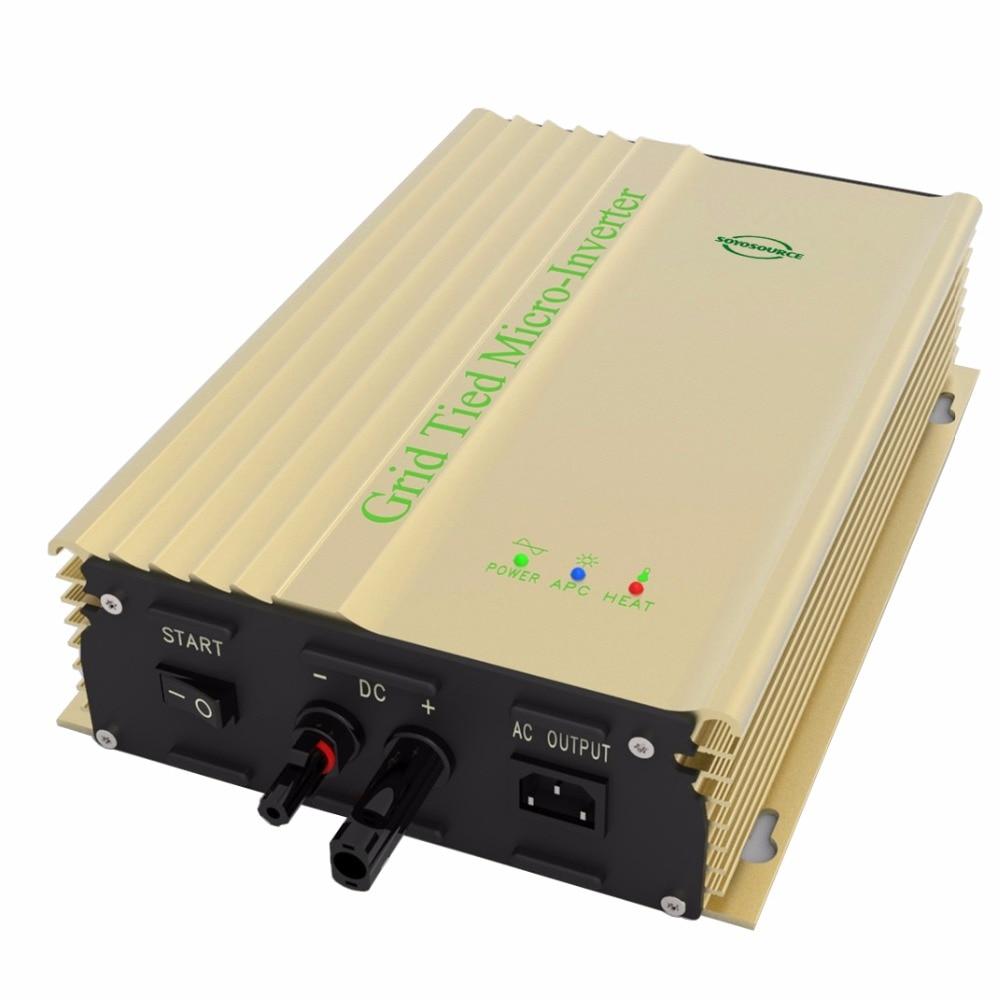 500 W Grid Tie Inverter für PV input16v-28v DC zu AC ausgang Für 12 V Batterie Solar Inverter Reiner sinus welle Inverter 24 V batterie