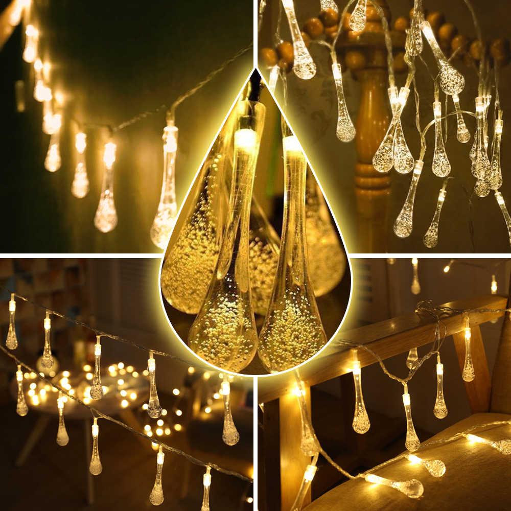 Vertvie 1 шт. Солнечная гирлянда светодиодный светильник наружный сад декоративная вода висячая лампа Водонепроницаемая Фея кемпинг свет путешествия Вечерние