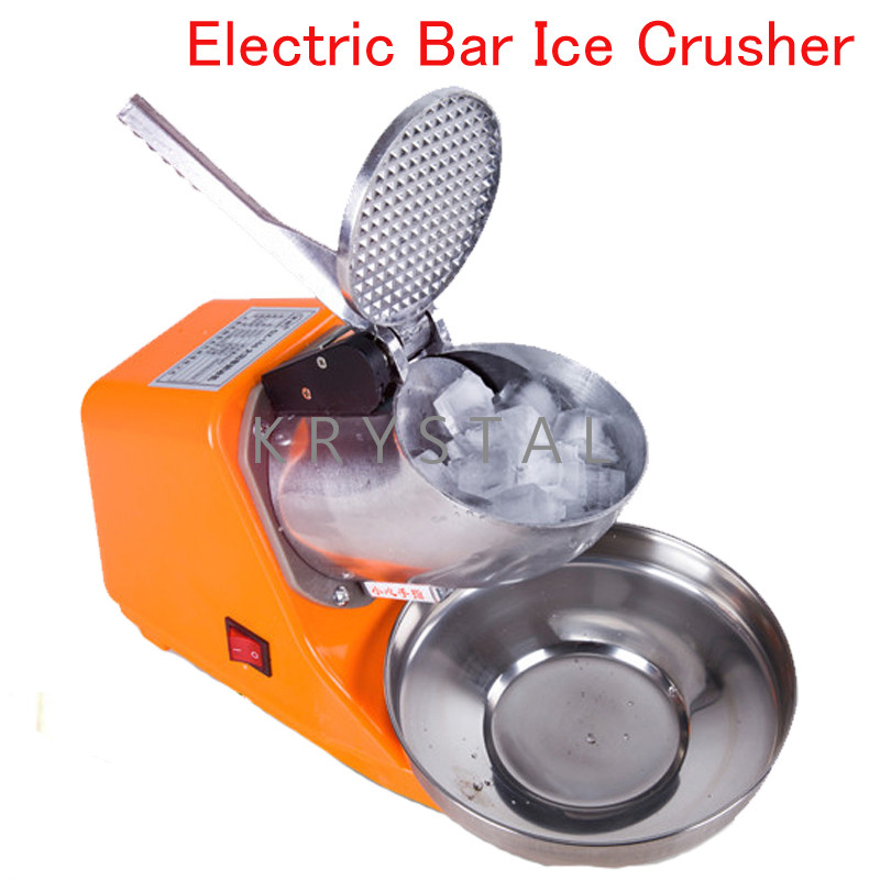 цена Electric Bar Ice Crusher Portable Ice Shaver Machine Handheld Automatic Ice Machine DM-SJ