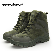 Winter/Autumn Army Men's Military Outdoor Desert Combat Tactic Mid-calf Boots Men Snow Tactical Hiking Boots Botas Hombre Zapats military tactical boots desert combat outdoor army hiking travel botas shoes leather autumn ankle men boots winter boots