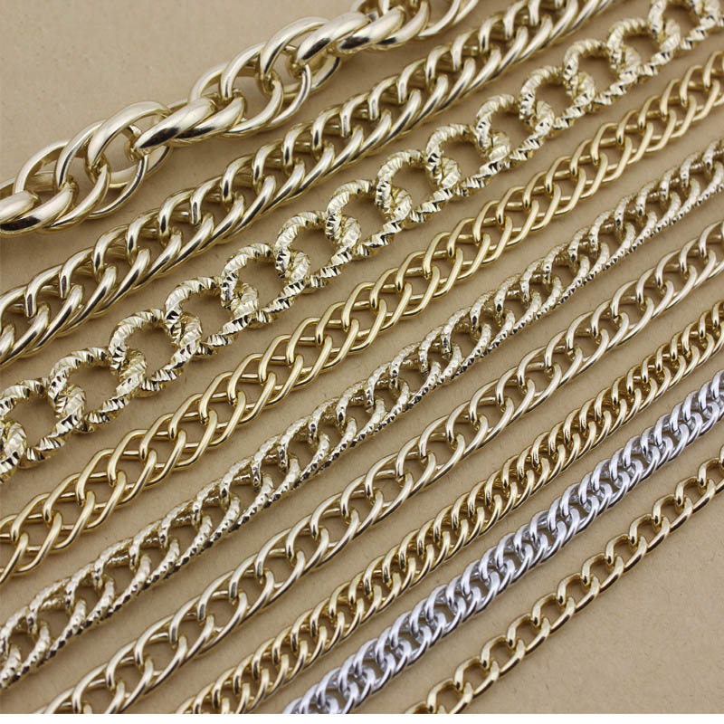 Flat Chain DIY Jewelry Making Necklace 2m//pack