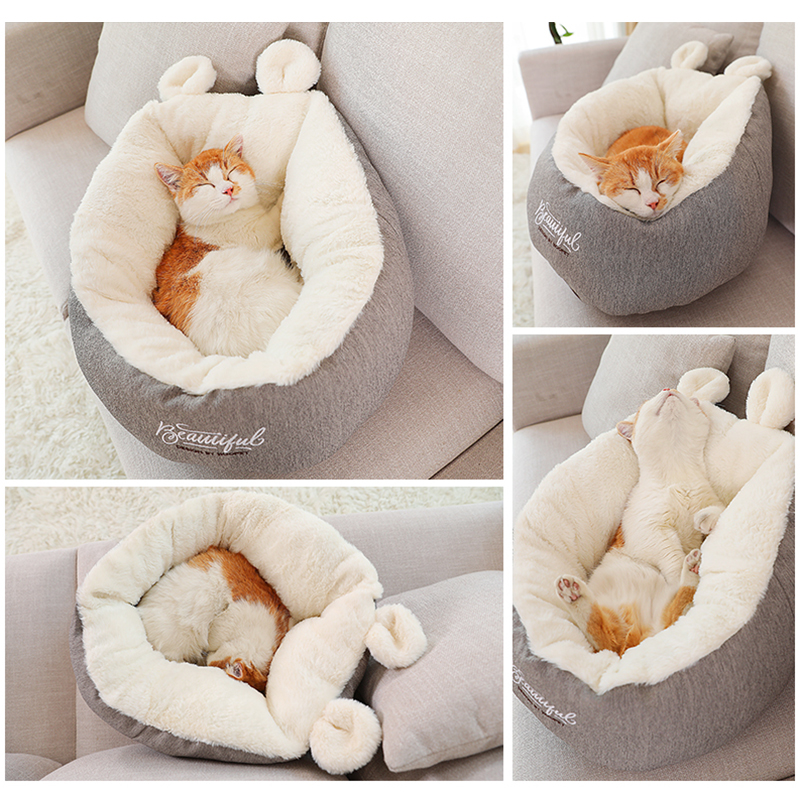 Warm Basket Bed for Cats and Puppies Beds & Sofas