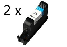 2pcs Compatible ink cartridge for HP40 black cartridge hp 51640  for hp Designjet  230 250c 330 350c 430 450c 455ca 488ca 650c
