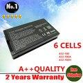 6 células bateria do portátil para Asus F8 F80 F80H F80A F80S F81 X61 X61W X88 X85 Series A32-F80 A32-F80A