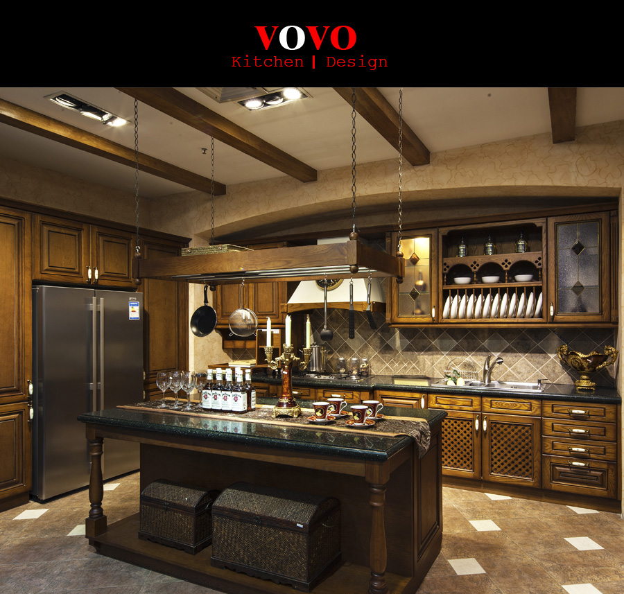 Kitchen Cabinets Uganda: Luxurious Classical Kitchen Cupboards-in Kitchen Cabinets