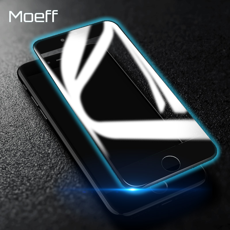 Morff Top Quality 4D Full Hd Screen Protector Tempered Glass For Iphone 6 6s Plus Glass on the for iphone 7 6 8 Plus Protector