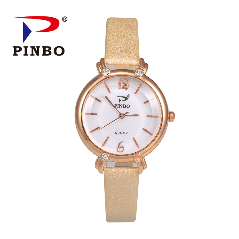 Relogios Femininos New fashion high quality women's watch casual simple quartz watches women leather dress wristwatches hot gift