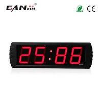 [Ganxin]4'' 4 digit 7 segment display Led countdown electronic wall Clock office clock