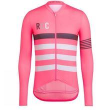 RCC для мужчин Велоспорт спортивный свитер с длинным рукавом дышащая одежда для велоспорта быстросохнущая Защита от солнца MTB велосипед одежда рубашки спортивная одежда