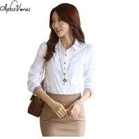 Camisa Feminina 2016 Chiffon Blouse Shirts Women Summer Tops Plus Size Women Clothing White Lace Blouses