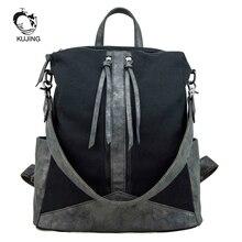 Kujing Многофункциональный Рюкзаки высокое качество Для женщин рюкзак дешевые тенденция студентка Сумки Горячие Для женщин Путешествия Повседневное рюкзак