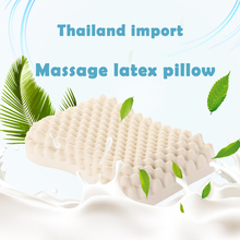 Thailand Imported Pure Natural Latex Pillow Gifts Breathable Massage Rubber