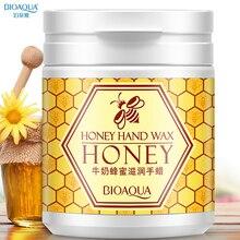 Bioaqua Milk Honey Hand Wax 170g Wrinkle Removal Paraffin Ba