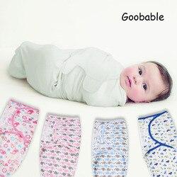 Tecido semelhante ao algodão orgânico bebê recém-nascido Swaddleme verão fina bebê envoltório swaddleme panos envelope saco de Dormir Sleepsack