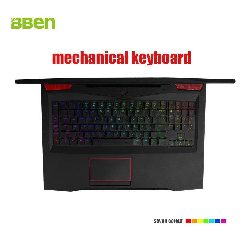 "Bben Gaming G17 Laptop Notebook 17 3 FHD IPS Screen i7 7700HQ Quad Core Processor GTX1060 Bben Gaming G17 Laptop Notebook 17.3"" FHD IPS Screen i7-7700HQ Quad Core Processor GTX1060 6G Dedicated Card"