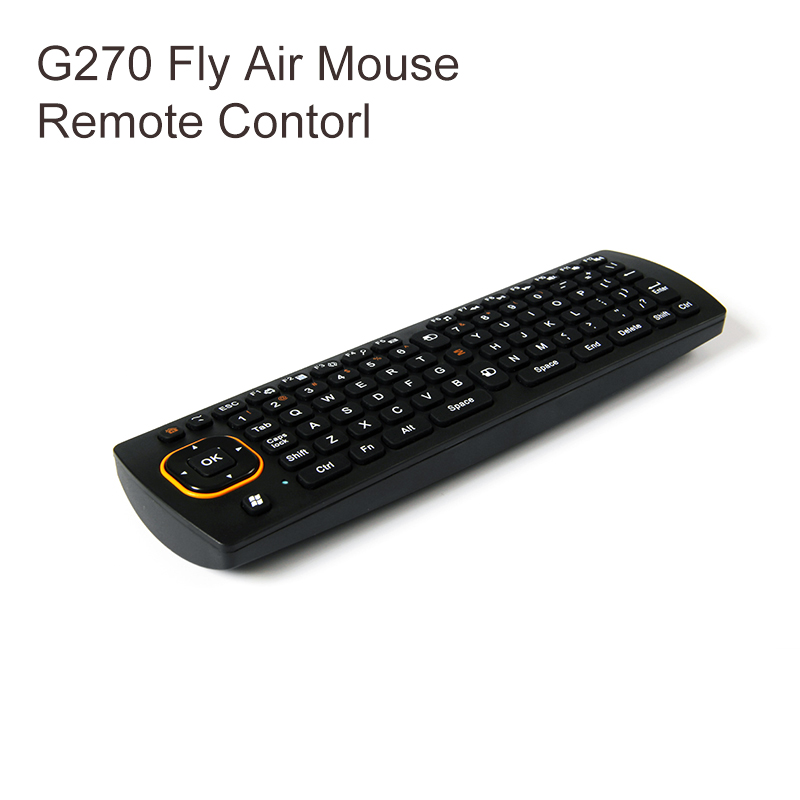 g270 gyroscope fly air mouse wireless wireless game keyboard android android remote. Black Bedroom Furniture Sets. Home Design Ideas
