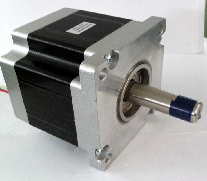 все цены на 1pc 1.8 degree Nema 42 stepper motor 110HS99-5504 with 4 wires/5.5A/48V-220V/11.2N.M CNC Mill Cut Engraver /3D printer