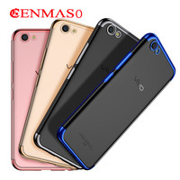 Case For Vivo X9 X9s Plus Plating Silicone Case Soft Cover For Vivo X9s Plus X9plus