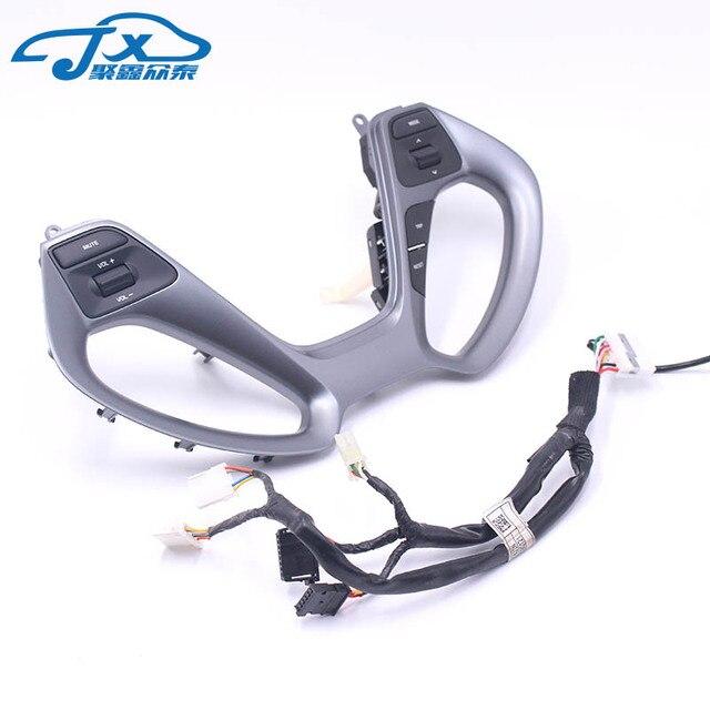 Para Kia RIO 15-16 interruptor de volante multifunción botón tamaño de volumen control Multimedia control de CD control remoto interruptor de control