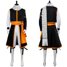 Костюм сказочного хвоста для косплея Этерия Нацу драгнееля, костюм для взрослых, мужская и женская одежда, костюмы для Хэллоуина