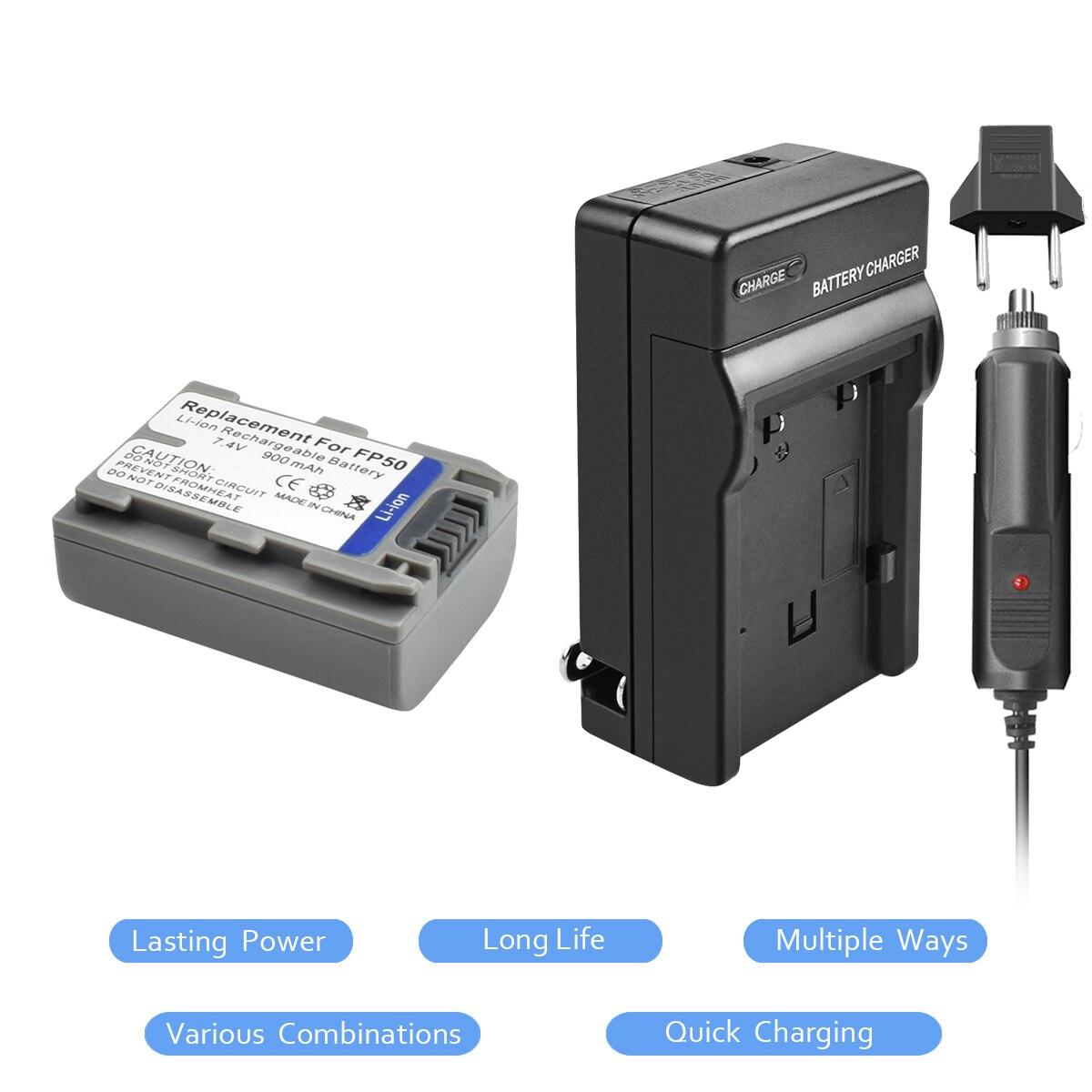 Battery Replacement for Sony DCR-DVD105 DCR-DVD105E DCR-DVD203 DCR-DVD205 DCR-DVD205E DCR-DVD305 DCR-DVD403 Record