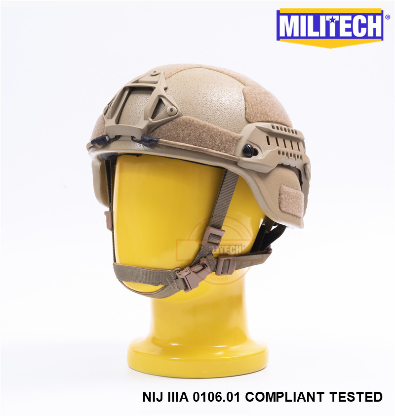 Self Defense Supplies Militech Cb Nij Iiia 3a Mich Bullet Proof Helmet Aramid Ach Ballistic Helmet Bulletproof Mich 3a 2000 Helmet With Test Report