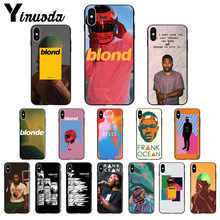 Yinuoda Endless Frank Ocean Blonde TPU Soft Phone Accessories Phone Case for iPhone 8 7 6 6S Plus X XS MAX 5 5S SE XR Cover(China)