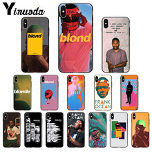 Yinuoda Endless Frank Ocean Blonde TPU Soft Phone Accessories Phone Case for