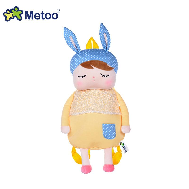 Animals Cartoon Bags Kids Doll Plush Backpack Toy Children Shoulder Bag For Kindergarten Angela Rabbit Girl Metoo Backpack