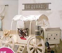 Специальная Конструкция Счастливой детские, для малышей, деревянной мебели кровать