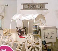 Специальная Конструкция Счастливой детские, для малышей, деревянной мебели-кровать