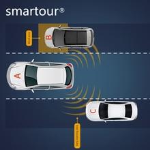 Smartour BSD Blind Spot Monitoring Radar Detection System Microwave Sensor Assistant Car Driving Security Alarm for Mazda 2017 цены онлайн