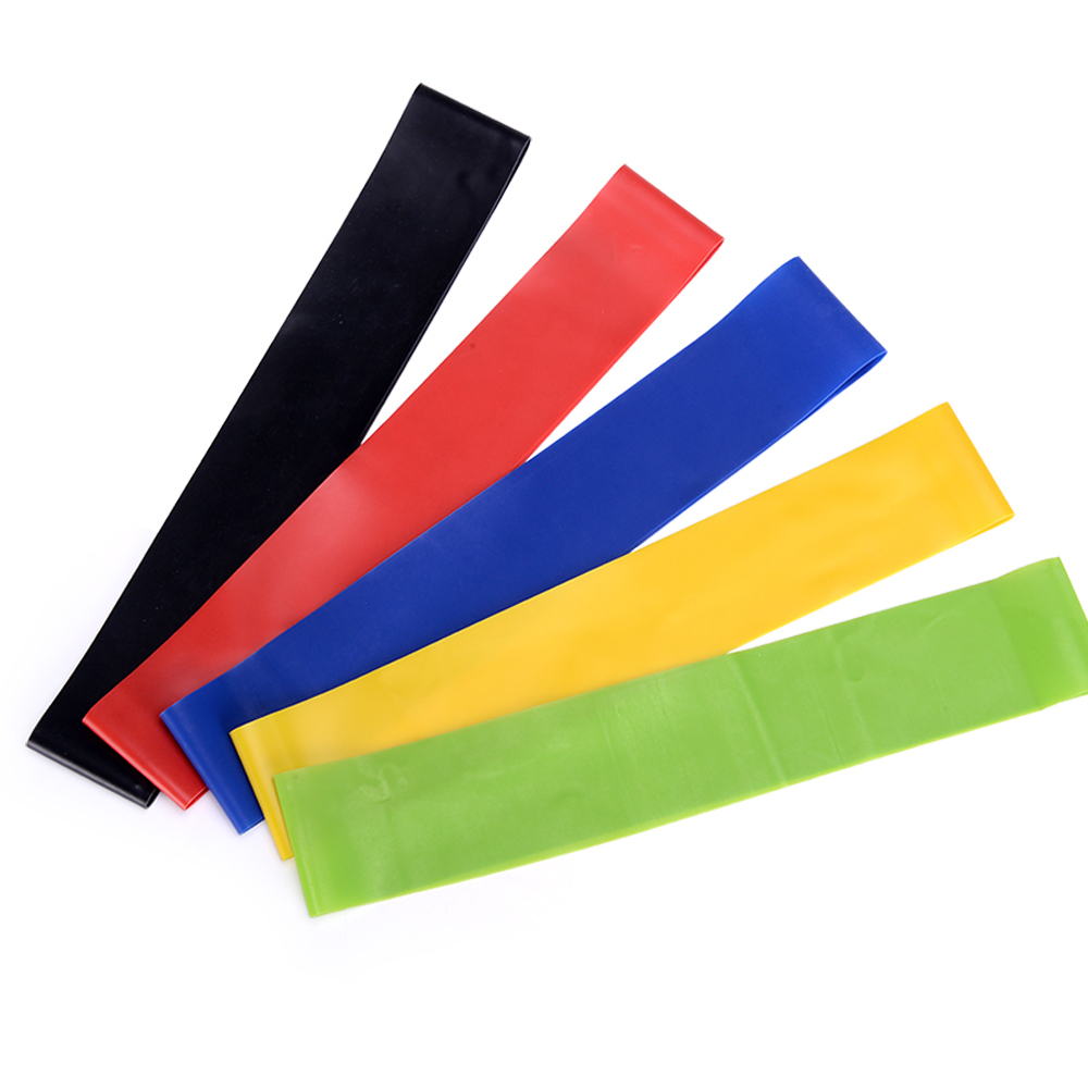 COREMATE Resistance Bands Latex Fitness Bands Workout Crossfit Pull Rope for Training Yoga 1pc Elastic Rubber Loops Gym Strength