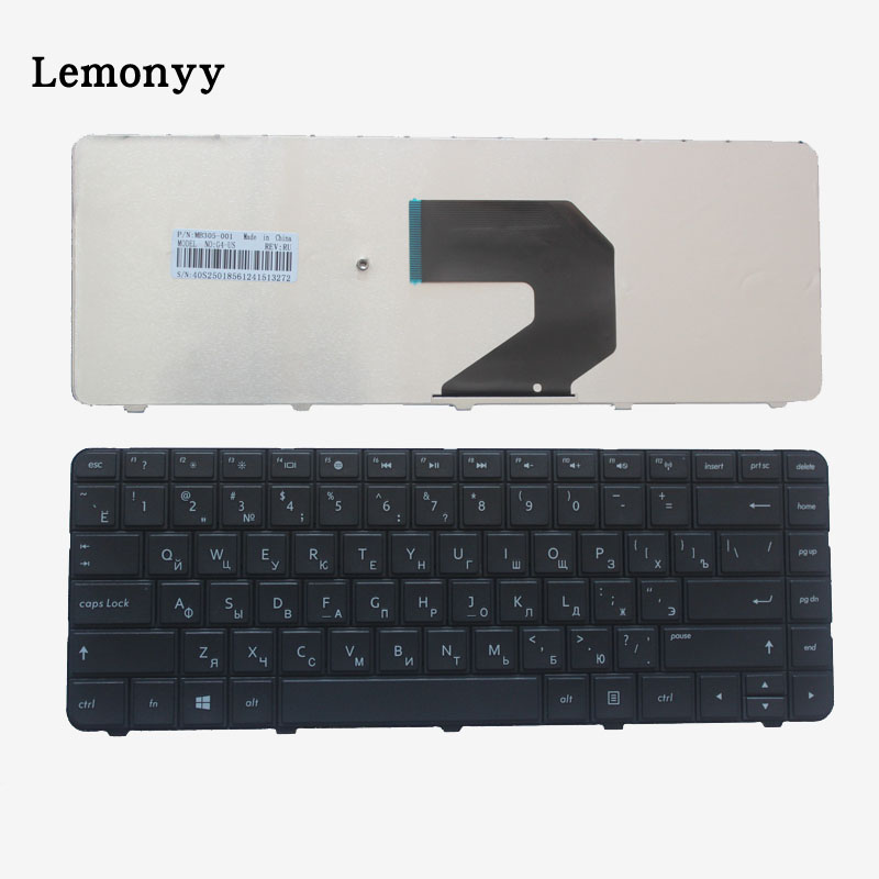 RU For HP CQ45-m03TX m01TU m02TU m01TX m05TX m02TX CQ431 CQ435 CQ436 635 655 650 630 636 CQ430 R15 CQ58 Russian Laptop Keyboard new ru for lenovo u330p u330 russian laptop keyboard with case palmrest touchpad black
