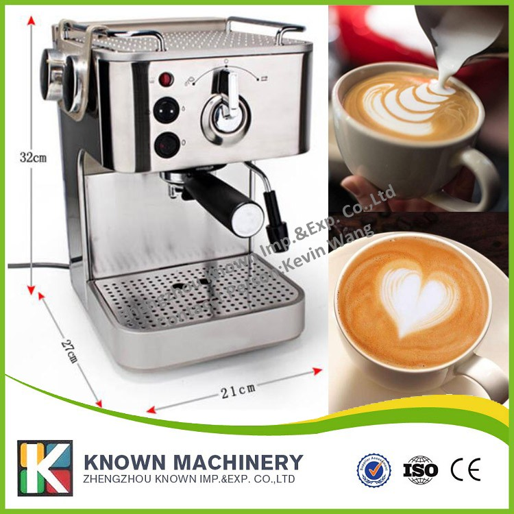 FREE SHIPPING supply the Semi-automatic Italian 19 bar Cappuccino espresso coffee maker home Coffee making machine