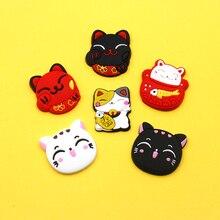 Nengdou R13 милый кот значок счастливая, броши с кошкой из аксессуары мультяшный значок для украшения одежды значки на рюкзак мультфильм свинья милый аксессуары для детей