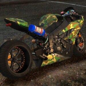 Виниловая пленка Green Urban Camo для автомобиля, Виниловая пленка для скутера, мотоцикла, автомобиля, клейкая камуфляжная пленка, рулон