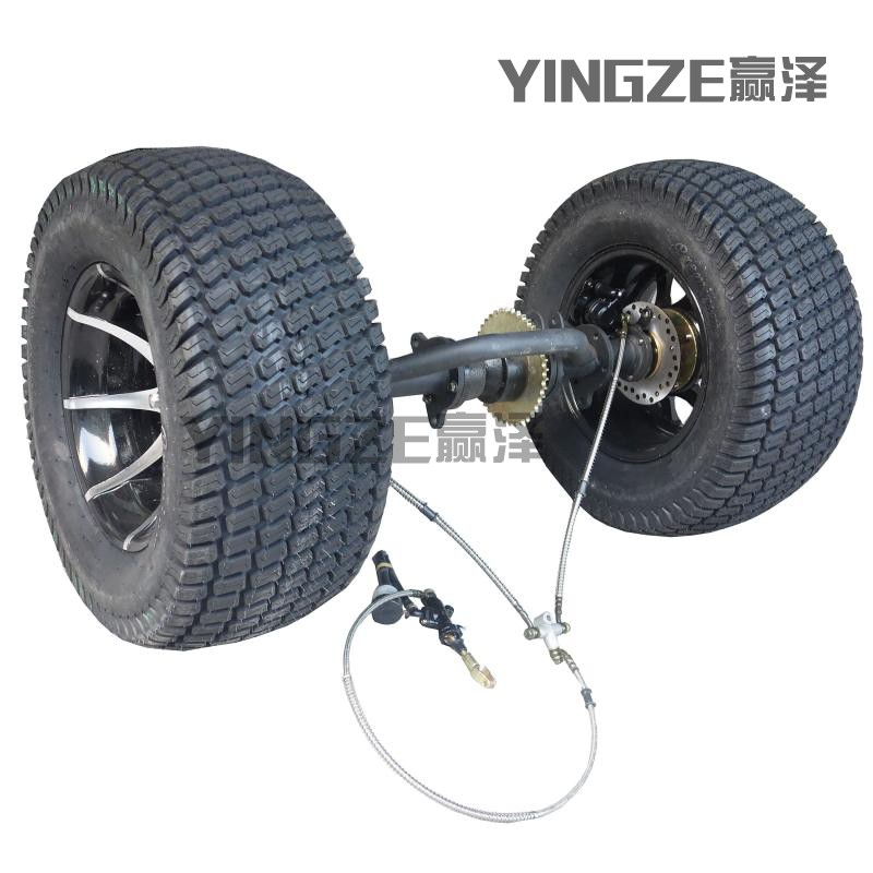 Back To Search Resultsautomobiles & Motorcycles Atv,rv,boat & Other Vehicle The Cheapest Price Diy Four Wheel Go Kart Karting Atv Utv Buggy Disc Rotor Brake 71cm Rear Axle With Swingarm Swing Arm Fork