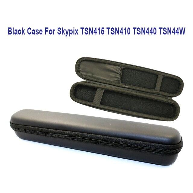 Frete Grátis!! Hard Protective Carrying Case Preto Para Skypix TSN415 TSN410 TSN440 TSN44W