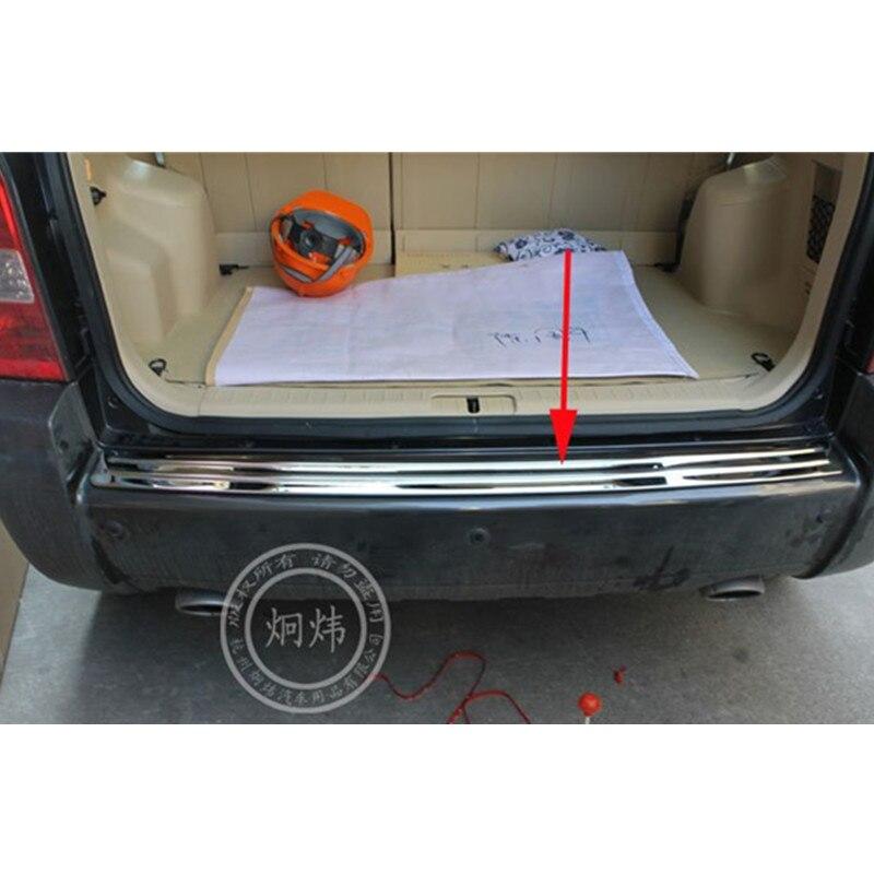 Haute qualité Protecteur de pare-chocs Arrière en acier inoxydable Rebord Pour Hyundai Tucson 2005 2006 2007 2008 2009 Voiture-style