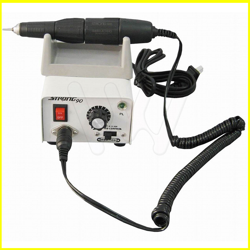 Dental Micromotor Strong 90 Polishing Unit + 35000 rpm HandpieceDental Micromotor Strong 90 Polishing Unit + 35000 rpm Handpiece